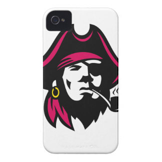 Buccaneer Smoking Pipe Retro Case-Mate iPhone 4 Cases