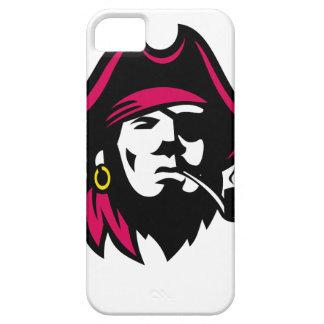 Buccaneer Smoking Pipe Retro iPhone 5 Cover
