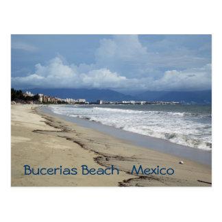 Bucerias Beach Summertime Postcard