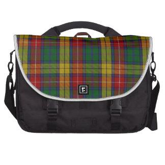 Buchanan Clan Family Tartan Laptop Computer Bag