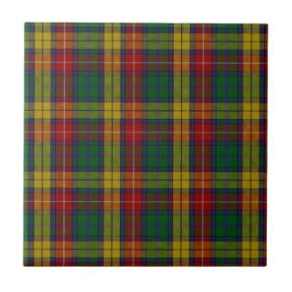 Buchanan Clan Family Tartan Tile