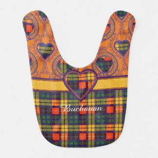 Buchanan clan Plaid Scottish tartan Bib