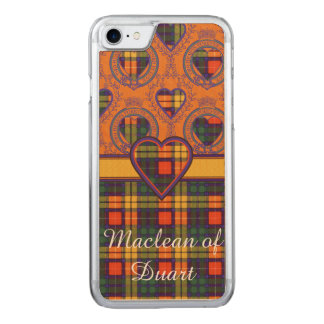 Buchanan clan Plaid Scottish tartan Carved iPhone 7 Case