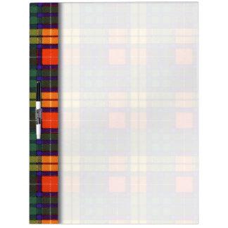 Buchanan clan Plaid Scottish tartan Dry-Erase Boards