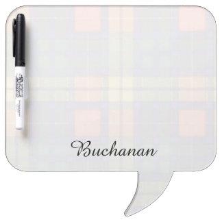 Buchanan clan Plaid Scottish tartan Dry-Erase Whiteboard