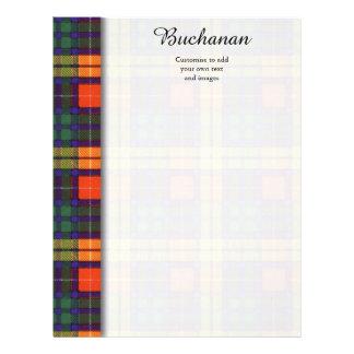 Buchanan clan Plaid Scottish tartan Custom Flyer