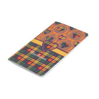 Buchanan clan Plaid Scottish tartan Journals