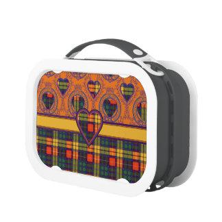 Buchanan clan Plaid Scottish tartan Lunchbox