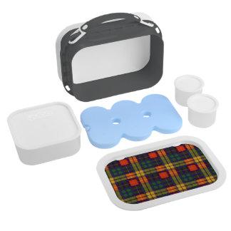 Buchanan clan Plaid Scottish tartan Lunchboxes