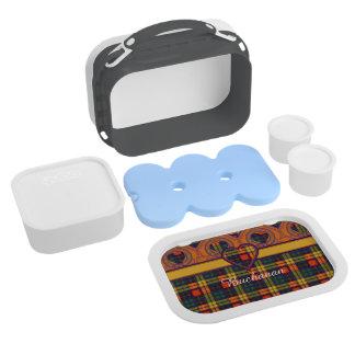 Buchanan clan Plaid Scottish tartan Lunch Box