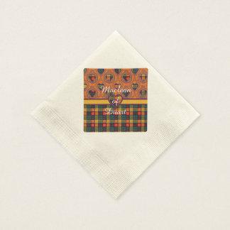 Buchanan clan Plaid Scottish tartan Paper Napkins