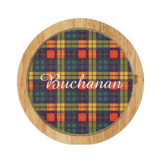 Buchanan clan Plaid Scottish tartan Rectangular Cheese Board