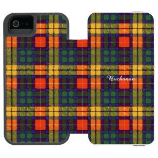 Buchanan clan Plaid Scottish tartan Incipio Watson™ iPhone 5 Wallet Case
