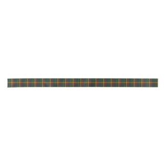 Buchanan Clan Tartan Plaid Ribbon Satin Ribbon