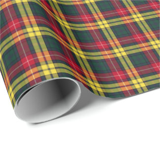 Buchanan Clan Tartan Wrapping Paper