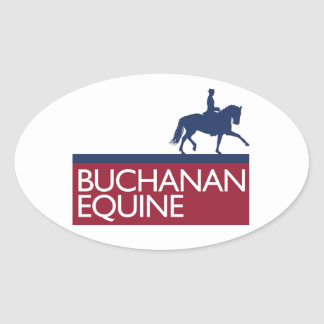 Buchanan Equine Sticker