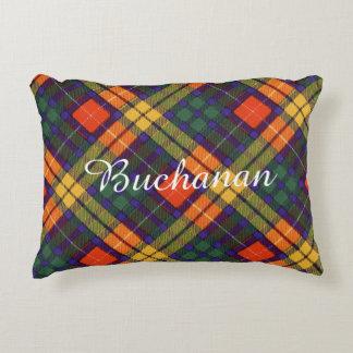 Buchanan Family clan Plaid Scottish kilt tartan Accent Pillow
