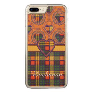 Buchanan Family clan Plaid Scottish kilt tartan Carved iPhone 7 Plus Case