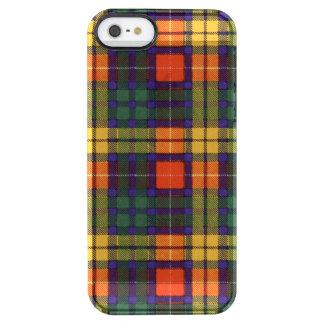 Buchanan Family clan Plaid Scottish kilt tartan Clear iPhone SE/5/5s Case