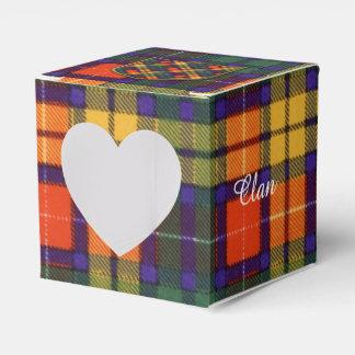 Buchanan Family clan Plaid Scottish kilt tartan Party Favor Boxes