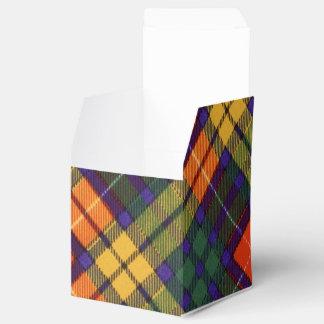 Buchanan Family clan Plaid Scottish kilt tartan Party Favor Box