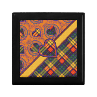 Buchanan Family clan Plaid Scottish kilt tartan Gift Boxes