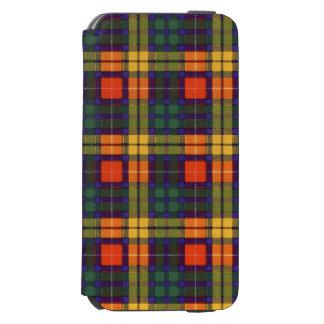 Buchanan Family clan Plaid Scottish kilt tartan Incipio Watson™ iPhone 6 Wallet Case