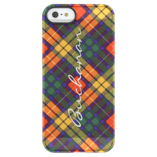Buchanan Family clan Plaid Scottish kilt tartan Permafrost® iPhone SE/5/5s Case
