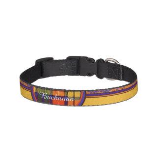 Buchanan Family clan Plaid Scottish kilt tartan Pet Collars