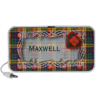 Buchanan Family clan Plaid Scottish kilt tartan Portable Speakers