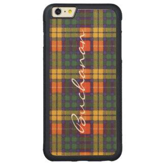 Buchanan Family clan Plaid Scottish kilt tartan Carved® Maple iPhone 6 Plus Bumper