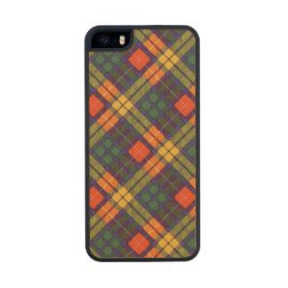 Buchanan Family clan Plaid Scottish kilt tartan Wood iPhone SE/5/5s Case