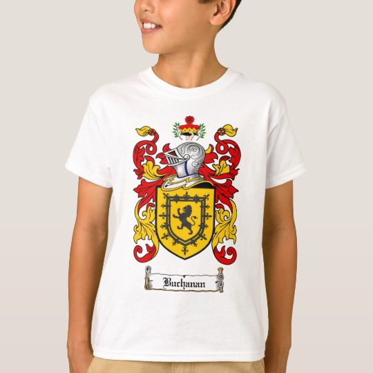BUCHANAN FAMILY CREST -  BUCHANAN COAT OF ARMS T-Shirt