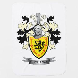 Buchanan Family Crest Coat of Arms Baby Blanket