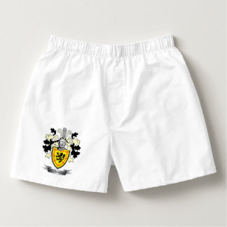 Buchanan Family Crest Coat of Arms Boxers