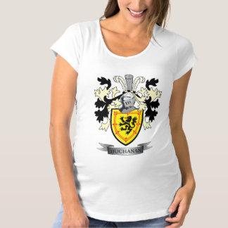 Buchanan Family Crest Coat of Arms Maternity T-Shirt