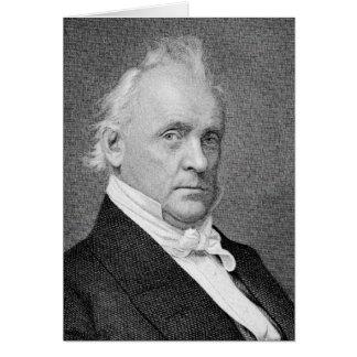 Buchanan - James President of United States Card