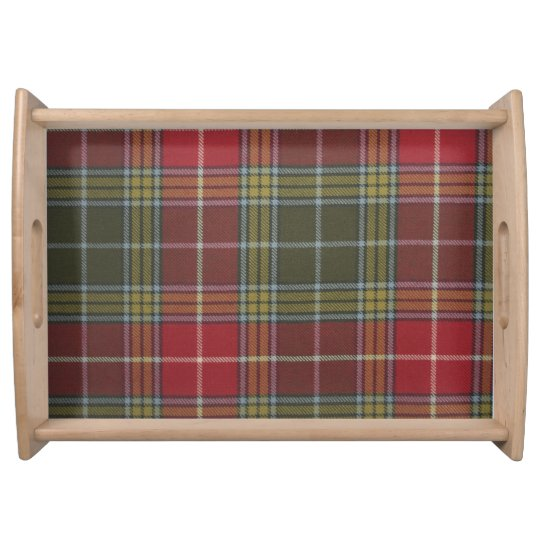 Buchanan Old Weathered Tartan Large Serving Tray