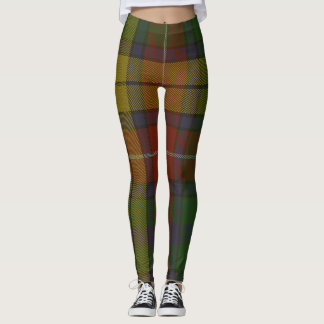 Buchanan Tartan Clan Plaid Leggings