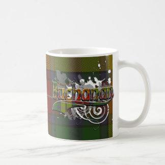 Buchanan Tartan Grunge Mugs