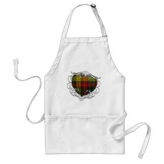 Buchanan Tartan Heart Standard Apron