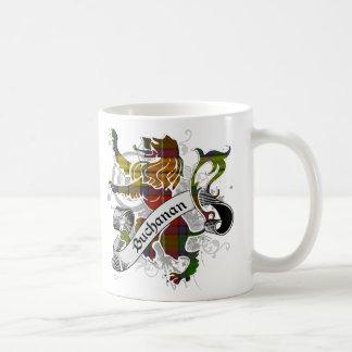 Buchanan Tartan Lion Coffee Mug