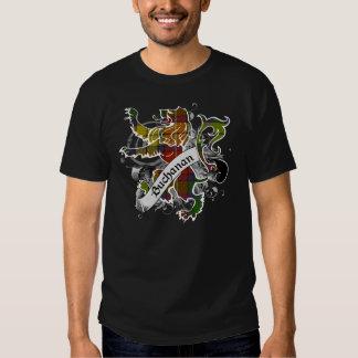 Buchanan Tartan Lion Tee Shirt