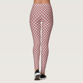 Buchanan tartan plaid leggings
