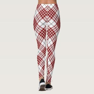 Buchanan tartan plaid leggings