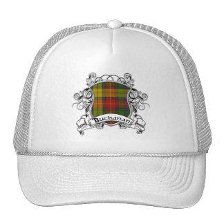 Buchanan Tartan Shield Trucker Hats