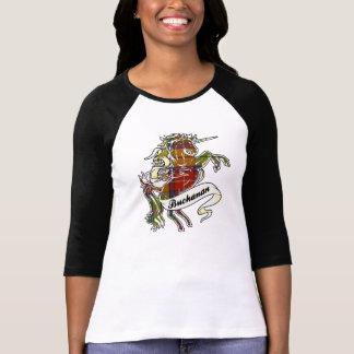 Buchanan Tartan Unicorn T Shirts