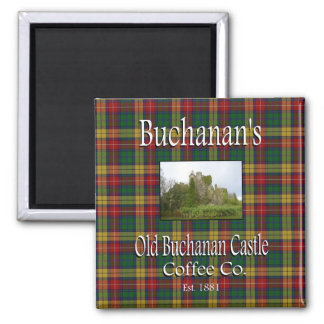 Buchanan's Old Buchanan Castle Coffee Co. Magnet