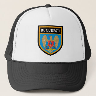Bucharest  Flag Trucker Hat