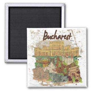 Bucharest Magnet